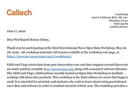 LIGO-Virgo Collaboration GW Open Data Workshop